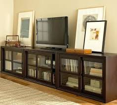 Multimedia Cabinet With Glass Doors Media Cabinet With Doors Living Room Multimedia Storage