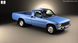 1978 toyota truck toyota hilux regular cab 1978 by 3d model store humster3d com