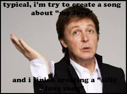 Paul Meme - typical love song paul mccartney meme by gbms on deviantart