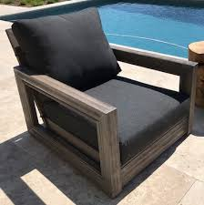 Teak Patio Chairs Ventura Teak Patio Chair With Cushion Teak Patio Furniture Los