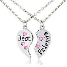 best friends heart necklace images Bestfriends necklace classic bestest friends heart necklace jpg
