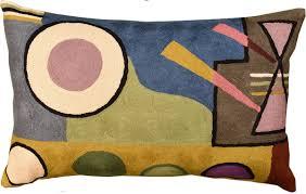 Lumbar Kandinsky position VI Decorative Pillow Cover Hand