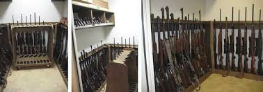 Built In Gun Cabinet Plans Quality Rotary Gun Racks Quality Pistol Racks Custom Gun Racks