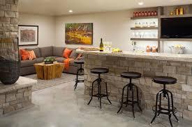 basement bar stone home furniture and design ideas