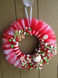 tulle christmas wreath ideas living room ideas
