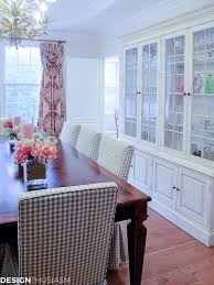 dining room inspiration adding a rosy glow with blush pink