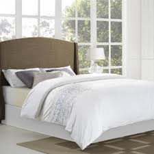 Wingback Tufted Headboard Bedroom Contemporary Wingback Headboard For Your Bedroom Design