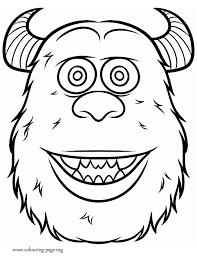 monsters university james sullivan coloring coloring