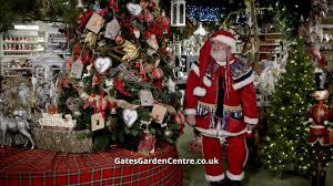 gates garden centre christmas 2015 youtube