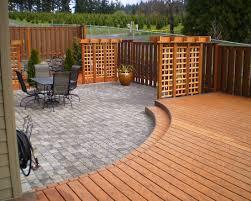 Patio Deck Ideas Backyard Backyard Eric Mckenna