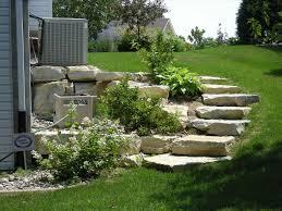 sloping backyard landscape ideas sloped backyard landscaping