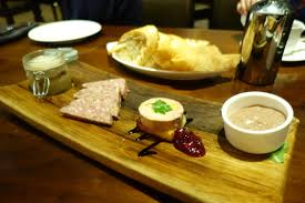 public house 3 las vegas nv endo edibles butcher block potted duck rillettes country pate foie gras torchon