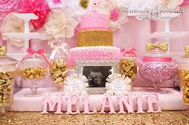 pink and gold baby shower candy table vanessa jurado flickr