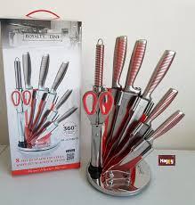 set couteau de cuisine mallette couteaux de cuisine professionnel luxe set de couteau de