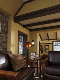 design a craftsman living room hgtv craftsman bungalow interior