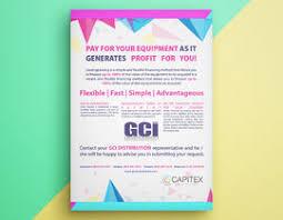 single page brochure flyer design 2 languages versions freelancer