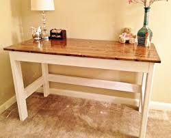 Diy Simple Desk Country Desk Diy Everything Diy Furniture Crafts Upcycles