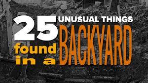 25 unusual things you won u0027t believe were found in a backyard youtube