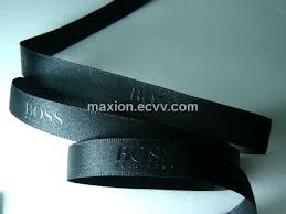 customized ribbon satin ribbon with embossed print purchasing souring ecvv