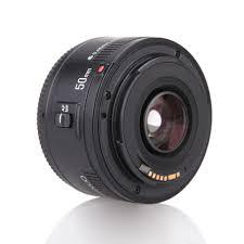 yongnuo yn ef 50mm f 1 8 lente af 1 1 8 lente prime padrão preto