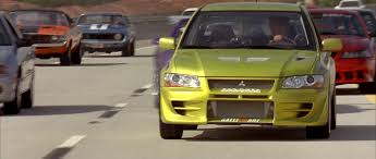 mitsubishi evo 7 custom image lancer evo vii front view png the fast and the furious