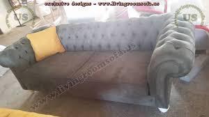 nubuck black chesterfield sofa design exclusive design ideas