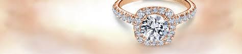 long gold rings images Rose gold engagement rings gabriel co jpg