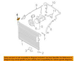 nissan frontier ac compressor nissan oem air conditioner a c refrigerant pressure sensor