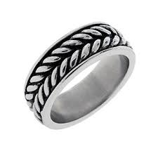 stainless steel rings for men stainless steel black carbon fiber inlay 8mm comfort fit ring for