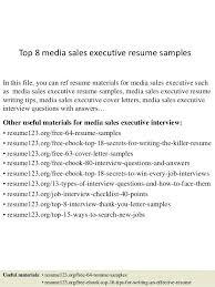 C Level Executive Assistant Resume Sample Resume Executive Assistant Resume Samples 2015 Top 8 Media Sales
