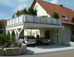 balkon stahlkonstruktion preis begehbare carports als balkon carport in holz alu stahl