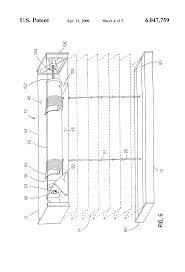 patent us6047759 cordless cellular shade google patents