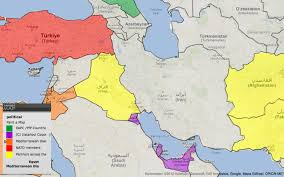 ankara on world map world map of nato partnerships around iran by country targetmap