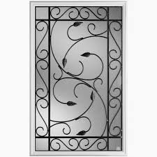 Pergolas Home Depot by Masonite 22 Inches X 36 Inches Pergola Iron Glass Insert