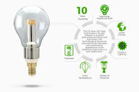 solar powered outdoor light bulbs gama sonic s solar led light bulb is lighting up the solar market
