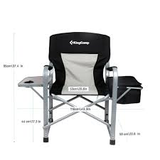 Coleman Oversized Quad Chair With Cooler 1 Off Kingcamp Heavy Duty Steel Folding Chair Director U0027s Chair