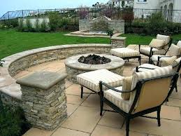 stone patio ideas backyard inspiration for a large timeless