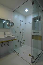 bathroom with shower enclosure design by sonali shah architect in bathroom with shower enclosure design by sonali shah architect in mumbai india