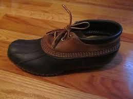 s bean boots size 11 vtg ll bean boots mens duck shoes size 11 boots