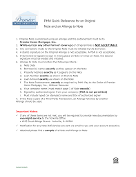 Free Email Signature Templates Free Allonge Mortgage Note Sample Templates At