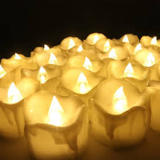 Esszimmer Lampe Kerzen 12er Set Led Kerzen Batteriebetriebene Flammenlose Kerzen Tee