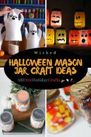 Halloween Crafts With Mason Jars by 279 Best Halloween Crafts Images On Pinterest Halloween Crafts