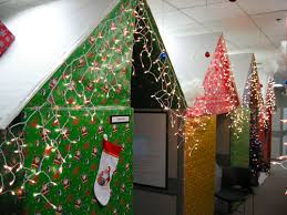 christmas decorating ideas for office small home office cubicle