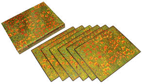 wholesale home design products wholesale handmade set of six table mats paper mache