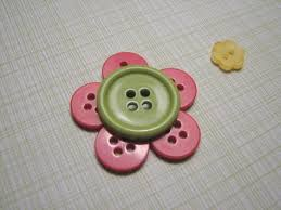 button flowers awe button flower pin i can do this button