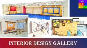 3 interior design gallery 1 perspective drawings manual