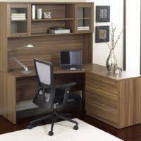 Black Computer Desk With Hutch Furniture Black Corner Home Office Computer Desk With Hutch And