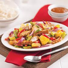 cuisiner l ananas porc aigre doux à l ananas recettes cuisine et nutrition