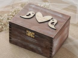 wedding box lovebirds wedding box lovebirds ring bearer box custom wood
