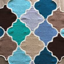 moroccan trellis crochet pattern picture tutorial trellis